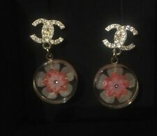 Chanel Resin Earrings