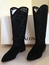 Anne Klein Suede Leather Boots - Size 8