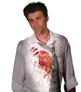 Digital Dudz Beating Heart Halloween Fancy Dress Fake Scar Wound
