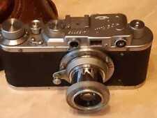Camera Zorki  is a Soviet rangefinder. lens industar - 22 № 135775