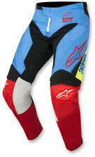 Alpinestars Men's MX ATV Pant S8 Racer Supermatic Aqua/Black/Red Size 32
