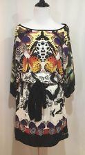 Desigual Gijon Butterfly Short Tunic Dress, Size Small