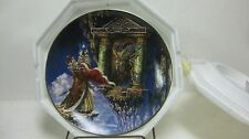Rare Dragon Offering Limited Edition Collectible Plate 9761 By Franklin Mint pl6