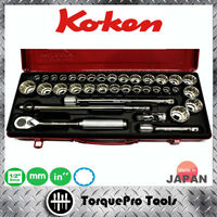 KOKEN 4279AM 1/2'' Metric & Inches Socket Set