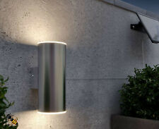 Outdoor Wall Light Solar Powered Stainless Steel Up and Down New