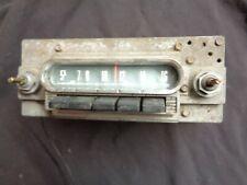 1960 1961 1962 Ford Galaxie Starliner Sunliner Victoria Push-Button Radio 14MF