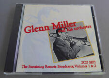 The Sustaining Remote Broadcasts, Vols. 1-2 by Glenn Miller CD 1996 2 Discs