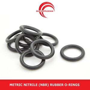 Metric Nitrile Rubber O Rings Seals 1.5mm Cross Section 2mm-19mm Inner Diameter