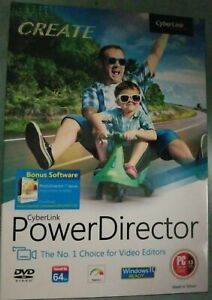 Cyberlink PowerDirector (New in Box)