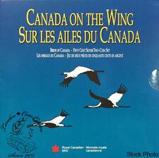 Canada 1995 50 Cents Birds of Canada Four Coin Set