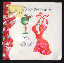 Cypress Home Santas Diva Cocktail Napkins 20 Pack Does This Come in Extra Large
