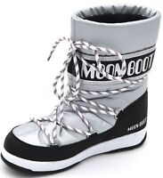MOON BOOT BAMBINO BAMBINA UNISEX STIVALE DA NEVE INVERNALE ART. WE SPORT JR WP