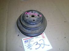 1978 1976 1975 Camaro Impala monte 454 350 TRIPLE SHEAV GROOVE WATER PUMP PULLEY