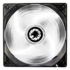 Game Max Sirocco 4 x White LED 120mm Fan PC 12cm Case Fan High Performance