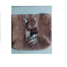 Tan Suede Fabric Bag lion,teen,kid's,whol esale, Boutique, kid's Party