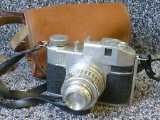 Vintage Bencini Comet S Camera 127 Film Camera with Lens Cap & Canvas Case