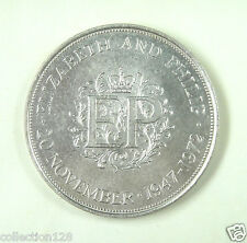 United Kingdom Coin, 1972, UNC, Silver Wedding Anniversary