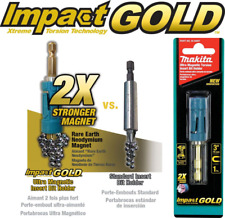 Makita B-35097 Impact GOLD® Ultra‑Magnetic Torsion Insert Bit Holder