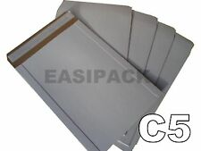 10 x All Board Envelopes A5 Large Letter PIP C5 (239 x 164mm) -WHITE