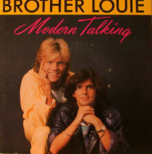 """MODERNO TALKING - BROTHER LOUIE - 7"""" SINGLE (F1248)"""