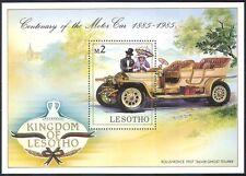 Lesotho 1985 ROLLS ROYCE/VINTAGE CAR/AUTOMOBILISMO/Auto/motori/trasporto 1 V M/S s2651