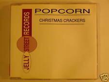 popcorn CD christmas crackers -3 tracks -uk import