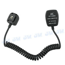 JJC 1.4m TTL Off-Camera Hot Shoe Cord for Canon Flash Speedlite replaces OC-E3