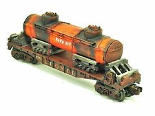 O,LIONEL,TANKER,FLAT CAR,SHELL,LOCO,GIFT,TOY,HOBBY,CUSTOM,LOAD,GRAFFITI,COLLECT