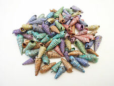4oz Dyed Augers Shells Seashell Craft Nice Colors Sailors Valentine