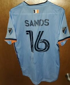 James Sands 2020 New York City FC Game Worn / Match Used & Signed MLS Jersey