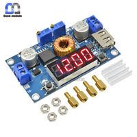 TOP 5A CC CV LED Drive Lithium charger Power Step-down Module W/ USB Voltmeter