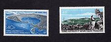 French Southern Antarctic Scott C13-C14, Mint Hinged, Port aux Francais& Penguin