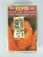 Vintage NEW Elvis Presley Love Me Tender Cassette Tape Sealed Rock n' Roll