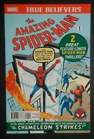 SPIDERMAN TRUE BELIEVERS AMAZING SPIDER-MAN #1 MARVEL STAN LEE STEVE DITKO