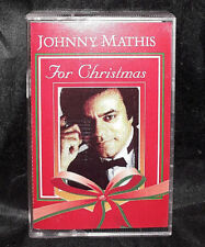 Johnny Mathis For Christmas Music Cassette