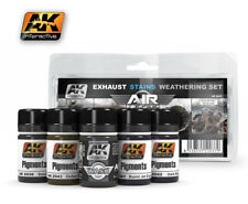 AK AIRCRAFT WEATHERING EXAUSTS & STAINS WEATHERING SET