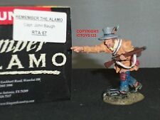 KING AND COUNTRY RTA67 ALAMO CAPTAIN JOHN BAUGH METAL TOY SOLDIER FIGURE