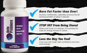 Keto Premiere (60 Caps) - Weight Loss Formula  1 Month Supply FAST Delivery