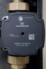 GRUNDFOS Hocheffizienz Pumpe Umwälzpumpe UPM3 25/70 inkl. 2x Pumpenkugelhahn