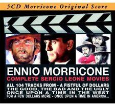 Complete Sergio Leone by Ennio Morricone (CD, Sep-2012, Deja Vu Italy)