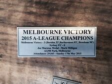 Melbourne Victory 2015 Champions Sublimation Plaque