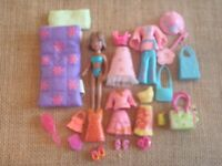 Polly Pocket Does Flowers Power Clothes Outfits Dolls 9-91