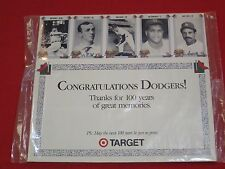 200 CARDS ~ CONGRATULATIONS DODGERS ~ 100 YEARS OF GREAT MEMORIES / SEALED