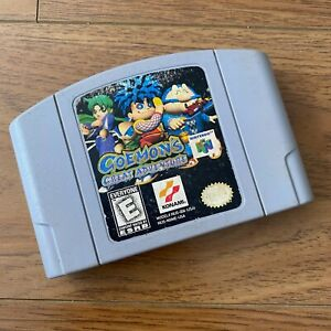 Goemon's Great Adventure - N64 - AUTHENTIC - CART ONLY