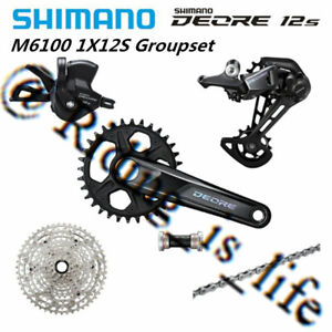 Brand New SHIMANO Deore M6100/M6120 Groupset 1x12-speed 30T/32T/170MM/175MM 51T