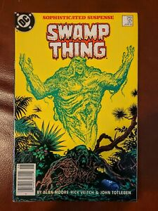 Swamp Thing #37 DC Comics 1985. 1st Appearance Of John Constantine