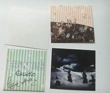 ERASURE - GAUDETE PROMO CD HAND SIGNED AUTOGRAPHED ANDY BELL CHRISTMAS CARD SET