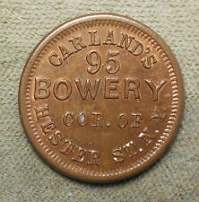 New York NY 630P Carland's R-2 Copper 19mm uncirculated 20%+ red.