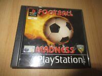 Football Madness Game Playstation 1 PS1 UK PAL