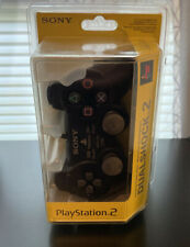 NEW UNOPENED PS2 DUAL SHOCK 2 ANALOG CONTROLLER BLACK SCPH-10010 PLAYSTATION 2
